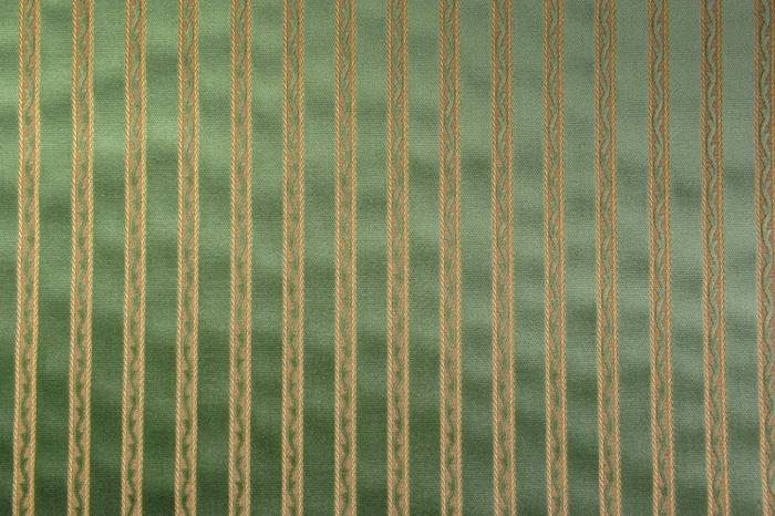 Baccara zöld csíkos