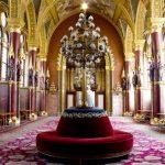 Országházi társalgó, folyosó kanapéi