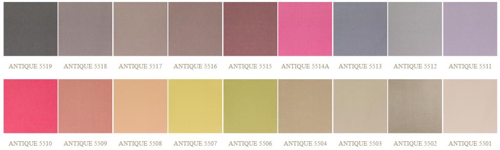 Antique színek