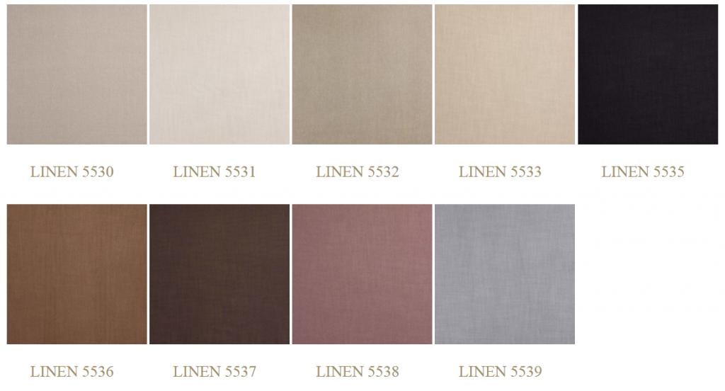 Linen színek