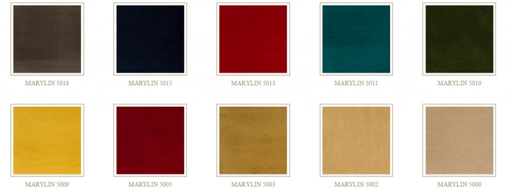 Marylin színek
