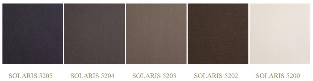 Solaris színek